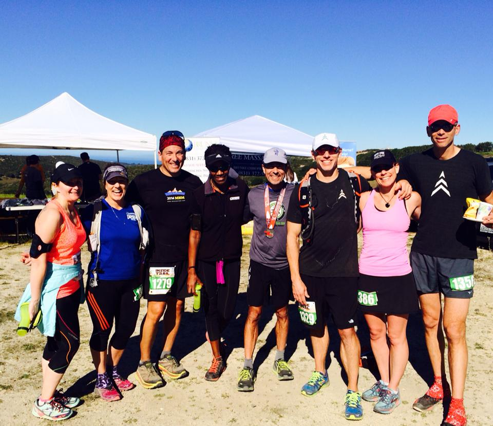 SVRC members at the Fort Ord Trail Run